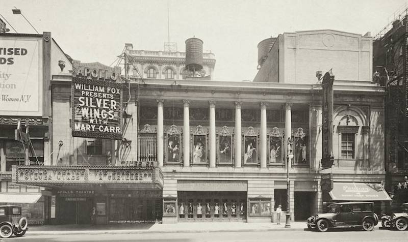 Le théâtre Apollo, New York