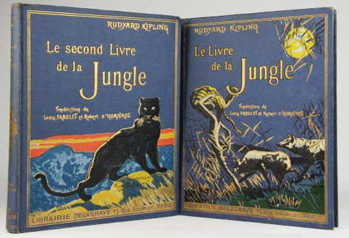 Couverture - Le livre de la jungle